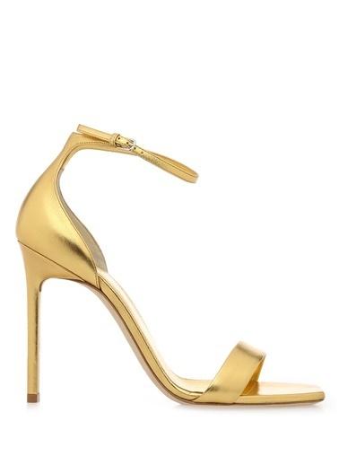 %100 Deri Abiye Ayakkabı-Saint Laurent
